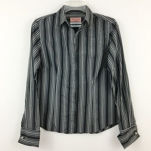 Thomas Pink Superfine Two Fold Button Up Shirt